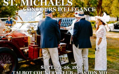 St Michaels 14h Annual Concours d'Elegance Tees Off At The Talbot Country Club In Easton MD On September 24-26, 2021