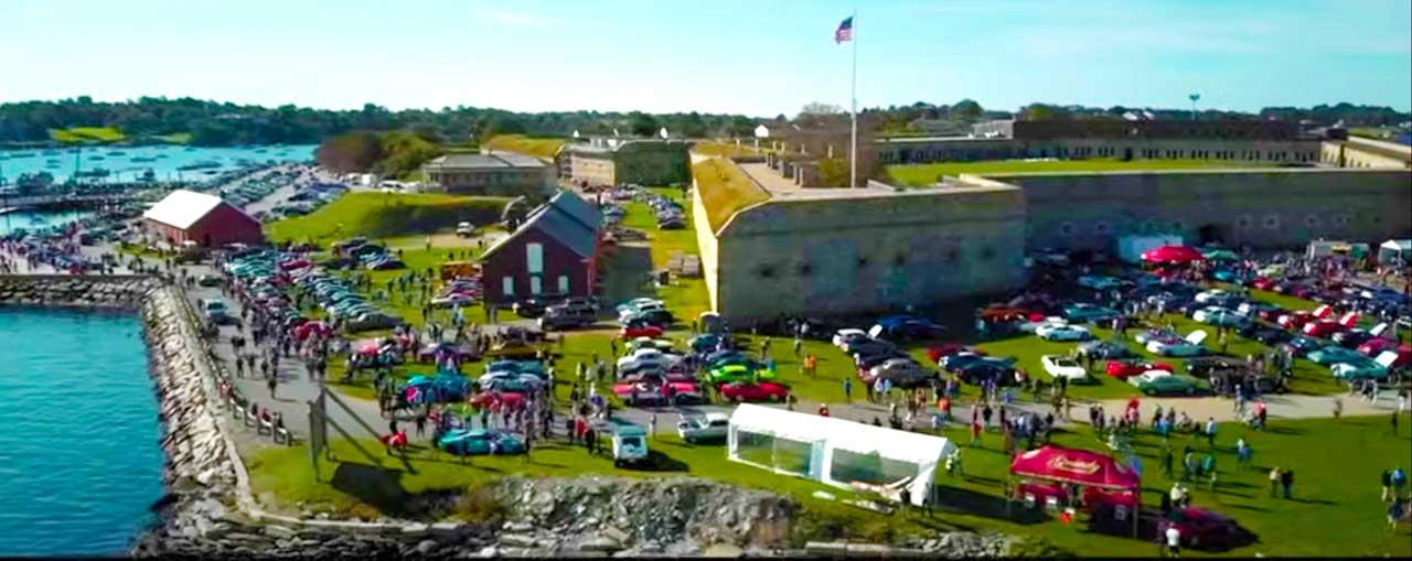 Audrain's Newport Concours City Overview