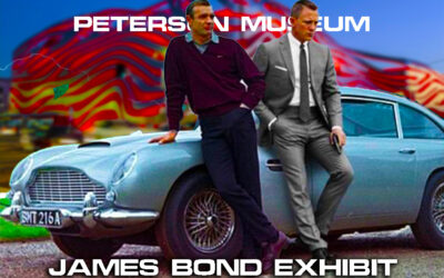 Rare James Bond Car Collection On Exhibit At The Petersen Museum