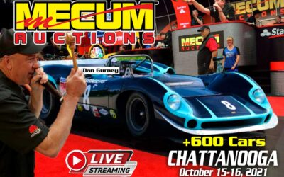 Mecum Auction in Chattanooga Selling Over 600 Classic Vehicles Over Weekend October 15-16, 2021