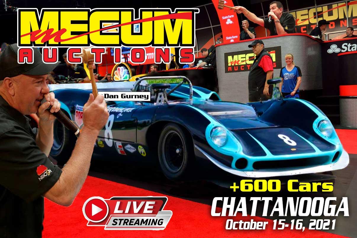 MECUM AUCTION IN CHATTANOOGA 2021