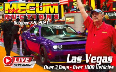 Mecum Auction Las Vegas Streaming Live On NBCSN (October, 7-9, 2021)